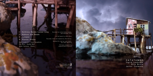 'Catatumbo' LP cover - front and back covers