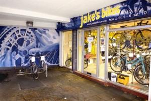 Jake's Bikes shop front